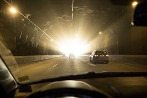 Försök pågår med fartkameror i tunnlar, något som kan bli verklighet nästa år.