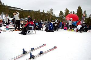 Intresset var stort för tävlingarna  i Björnrike.