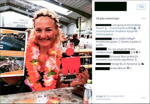 Minna Bäckman, fabrikschef på Akzo Nobel, kvalificerade sig till IRONMAN på Hawaii i helgen.