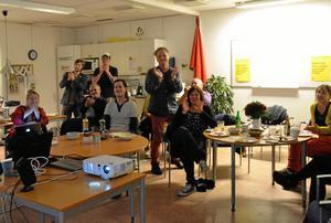 Glädje hos V. Valresultatet ger V större inflytande i lokalpolitiken i Hällefors.