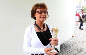 Barbro Kernby blev Årets Kulturprofil.