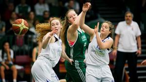Frida Olsson, en av två SBBK:are som kom med i all star team.