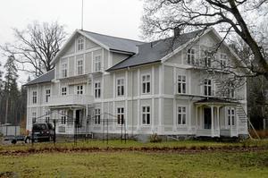 Ny verksamhet. Porla slott byggs om till LSS-boende. BILD: BJÖRN PALMQVIST