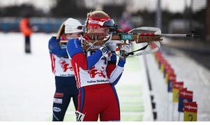 Linn Larssons skytte har fungerat utmärkt under säsongen och kan bli en vinstfaktor under det kommande JVM i Slovakien.