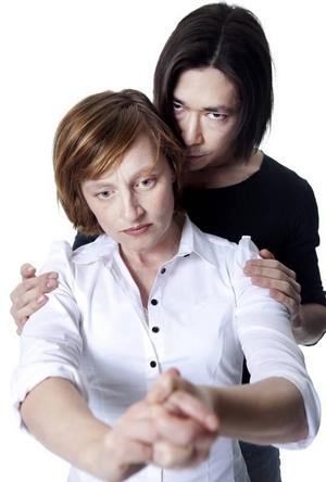 PARET MACBETH. Katarina Cohen och Christoffer Fransson.