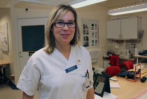 Therese Eskilsson, arbetsterapeut, har varit med om att alla inte vet vad yrket innebär. – Jag har fått frågan om jag kommer för att erbjuda ett nytt jobb.