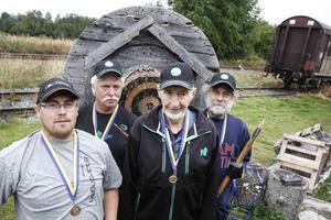 Emil Matsson, Gunnar Nord, Kjell Wiik och Kaj