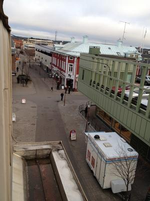 Lugnt på Bollnäs gator 11.11.11 kl 11:11. Ylva Nordholm, Bollnäs