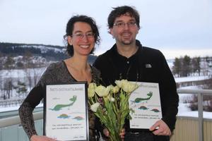 Jana Risk, Lugnviks hälsocentral, och Lorenz Risk-Plotzki, Torvalla hälsocentral, är årets distriktsläkare 2013.