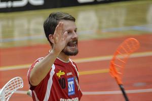 Patrik Fransson blev precis som Anton Samuelsson tvåmålsskytt.