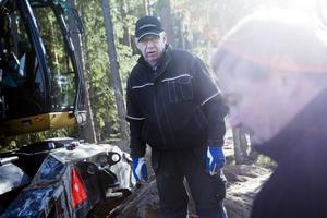 Bengt Andersson undersökte flera alternativ till eget avlopp innan han valde minireningsverk.