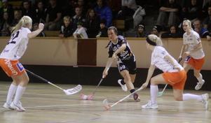Madelene Backlund gjorde två mål och tre assist. Foto: Mikael Stenkvist
