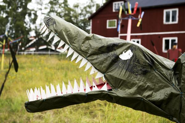 Se upp för dinosaurier.