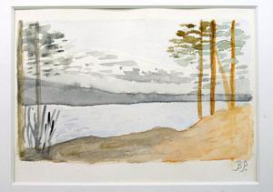 Naturmotiv av Birgit Persson, 89.