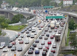 Många trafikproppar kan uppstå under midsommarhelgen.