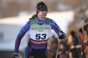 Britta Johansson Norgren öppnade starkt i långloppscupen.