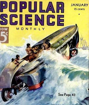 1930-talet verkar ha varit den gyllene tiden för att fantisera ihop amfibiefordon. Tidskriften Popular Science hade flera av dem på sina omslag.