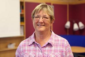 Ewa Hellström-boström berättade om att skriva guideböcker och att ge ut på eget förlag