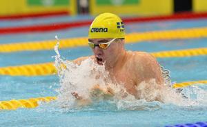 Johannes Skagius klarade inte att kvala in till OS i Rio under måndagens bröstsim.