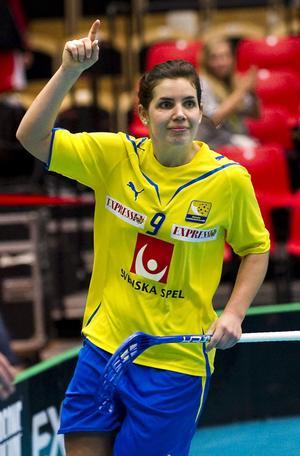 Sara Kristoffersson kan ha gjort sin sista landskamp någonsin.