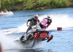 Jonathan Mattiasson, watercross i Sveg