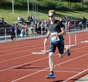 Först i mål på tio kilometer var Hedemoras Erik Fernlund.