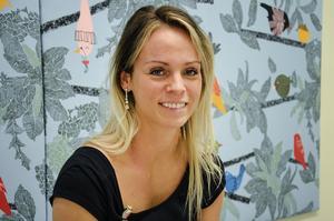 Linn Gråhns är verksamhetsledare på familjecentralen i Hedemora.