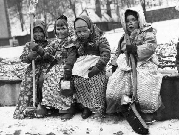 Påskkäringar anno 1955.
