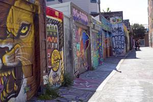 San Franciscos kända utegalleri.