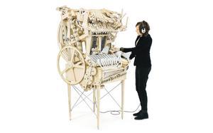 Martin Molin har byggt instrumentet