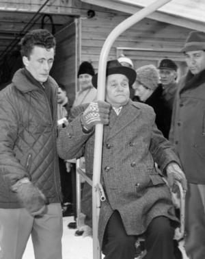 Linbanetraditionen är lång på Vemdalsskalet. 1961 invigdes Hovdebanan vilken hade en kapacitet på 220 personer i timmen.