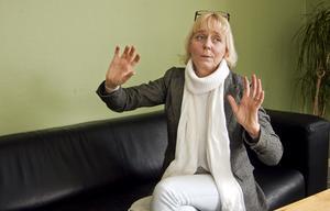 Gemensamt. Hon stor inför stora utmaningar Katarina Strömgren Sandh, ny chef för kommunens omsorgsförvaltning. Men med gemensamma krafter tror hon på möjligheterna. BILD: BIRGITTA SKOGLUND
