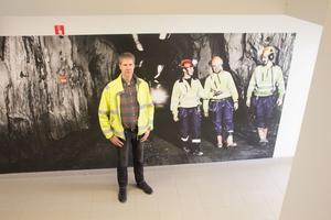 Hans Jönsson säger att nästan alla som jobbar i Garpenbergsgruvan bor i närområdet.