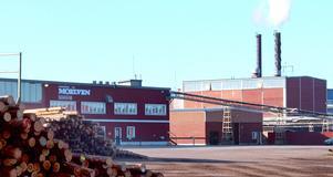Sågverket i Mockfjärd ingår i Moelvenkoncernen.