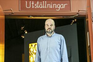 Ola Hanneryd på Fjällmuseet.