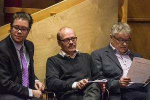 Joel Nordqvist (M), Thomas Andersson (C) och Christer Siwertsson (M) tillhörde de flitigare debattörerna under landstingsfullmäktige.