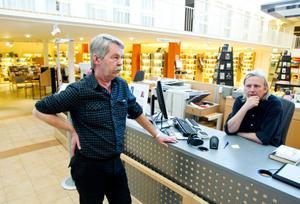 Bibliotekschef Nils Rundkvist.