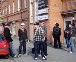 Partierna är tämligen överens om att den viktigaste frågan för kommunen är att bekämpa arbetslösheten och skapa jobb.Foto: Evy-Ann Mattsson