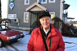 Lennart Wärmell  svängde förbi tidningshuset för ett samtal om karriären.