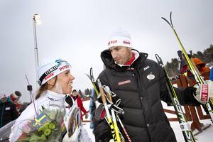 Charlotte Kalla och Magnus Ingesson.