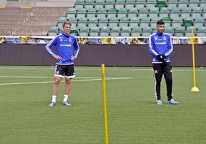 GIF Sundsvall möter Hammarby och Joel Enarsson kan ta plats som anfallare tillsammans med Stefan Silva direkt.