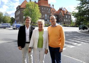 Andreas Karlsson, Carina Asplund och Bosse Svensson kandiderar alla till kommunfullmäktige för Centerpartiet i Östersunds kommun. Partiet vill skapa