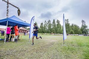 Yakub Kerar, Alfta, vann upp-till-17-klassen på sex kilometer.