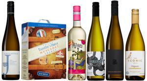 Närmare 50 vinnyheter i det fasta sortimentet på Systemet lanseras med start 1 juni. Vinerna ska finnas i lager i tre månader, längre om de säljer bra. De här hör til lde allra bästa vita valen bland de nya sommarvinerna.
