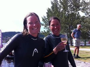 Christine Hägglund och Mari Rutgersson