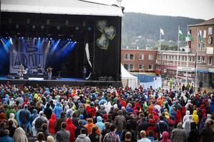 Juli När First Aid Kit spelade på Yran var det trångt i publiken.