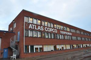 ANSTÄLLER. Det går bra för Atlas Copco i Tierp. Det senaste året har de anställt nära 100 personer.