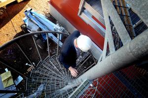 Anläggningen i Hedemora är fortfarande en byggarbetsplats. Men kraftvärmeverket i Säter kommer att startas vilken dag som helst.