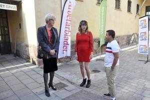 Shania Longyard, Erika Wennerström och Marcus Svensk menar att det behöv mer information i samhället om transpersoner.