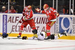 Modo Hockey räckte inte till, även fast man avslutade matchen med två snabba mål.